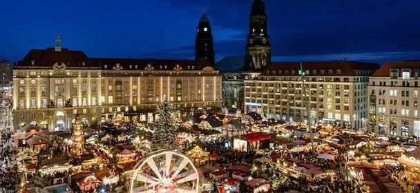 Vánoční trhy s krásnou atmosférou Pirny, pevnosti Königstein a Drážďan