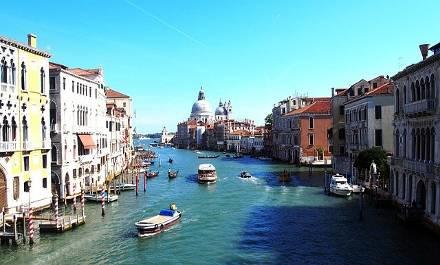 Advent v Benátkách: Benátská laguna, Bazilika sv. Marka i Ponte di Rialto